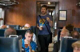 Rail Ale Trail Man Talking