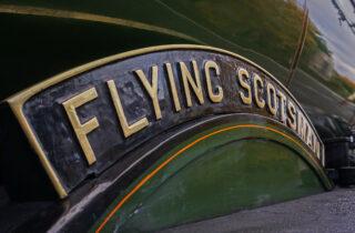 The Flying Scotsman Closeup