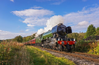 The Flying Scotsman Countryside