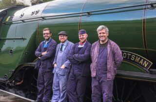 The Flying Scotsman Engineers