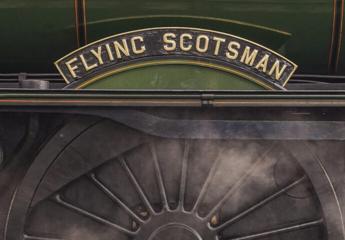 The Flying Scotsman Wheel